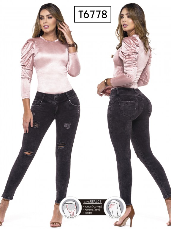 Jeans Colombianos Trucco's - Ref. 278 -6778