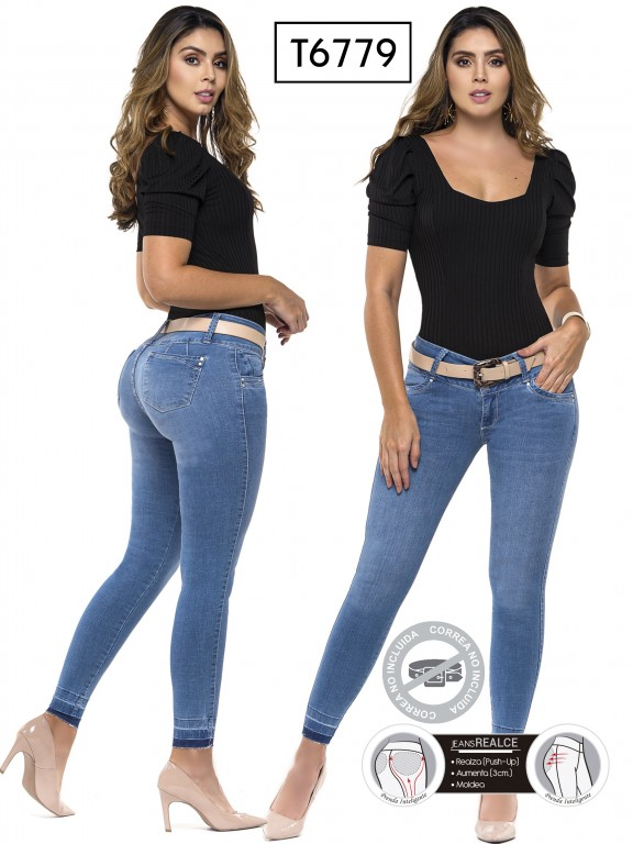 Jeans Colombianos Trucco's - Ref. 278 -6779
