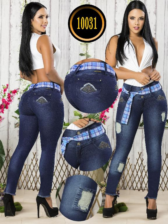 Colombian Butt lifting Jean - Ref. 101 -10031-T