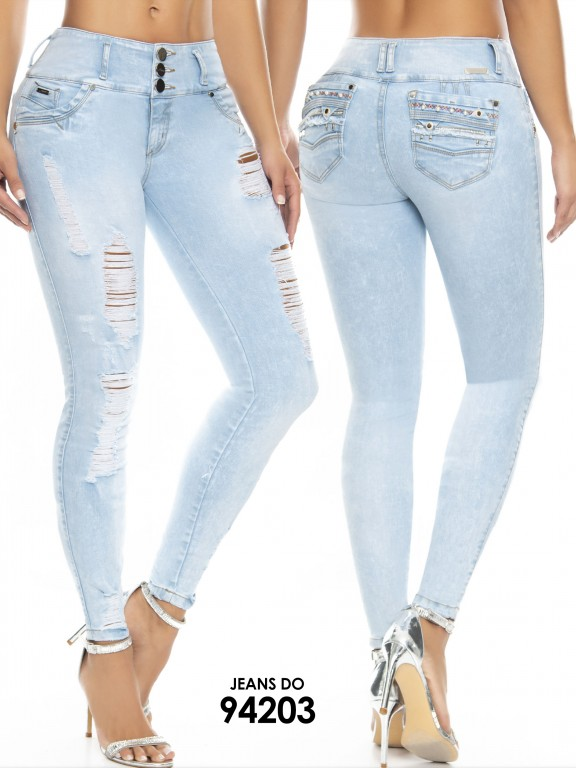Jean Colombiano Do Jeans - Ref. 248 -94203 D