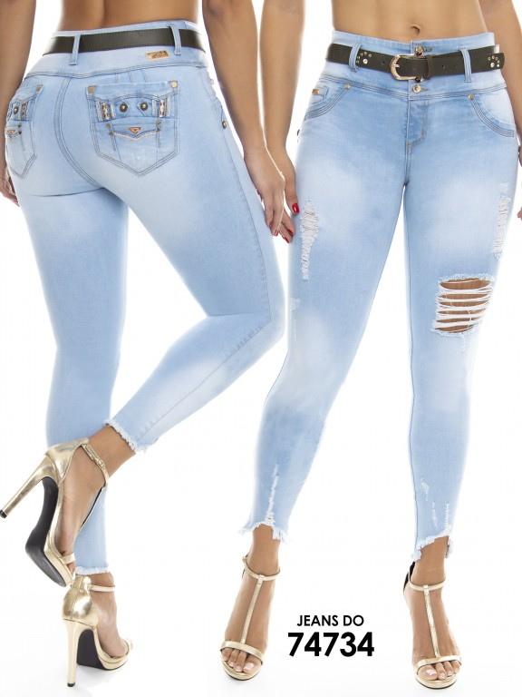 Jean Colombiano Do Jeans - Ref. 248 -74734 D