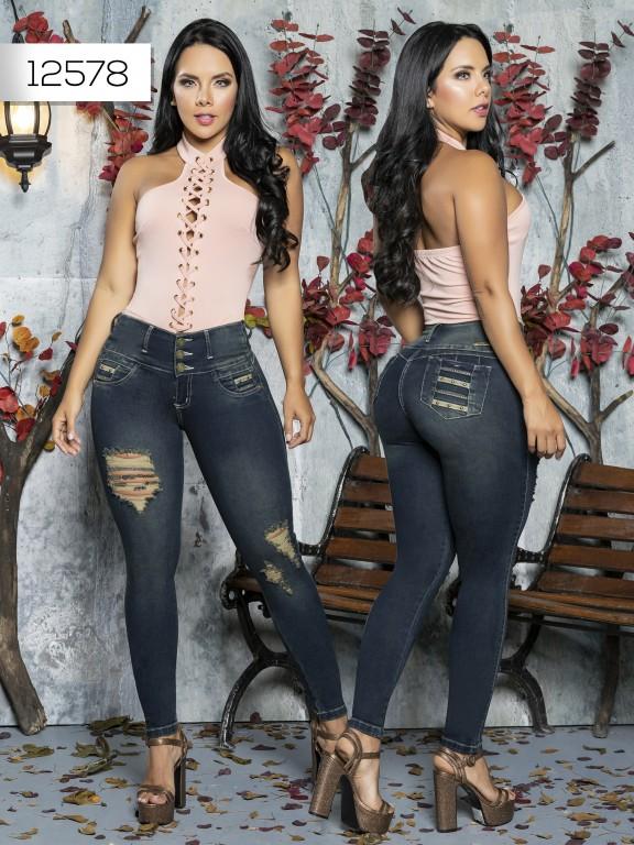 Jeans Levantacola Colombiano Tabbachi  - Ref. 101 -12578 T