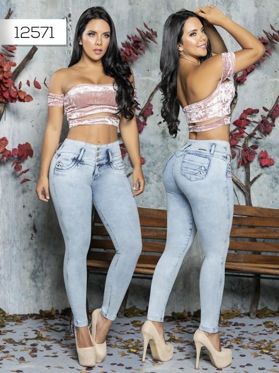 Jeans Levantacola Colombiano Tabbachi  - Ref. 101 -12571 T