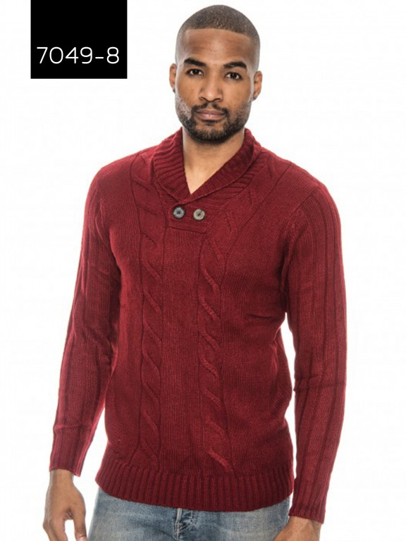 Sueter Hombre 7049-8 Red - Ref. 200 -7049-8 Red