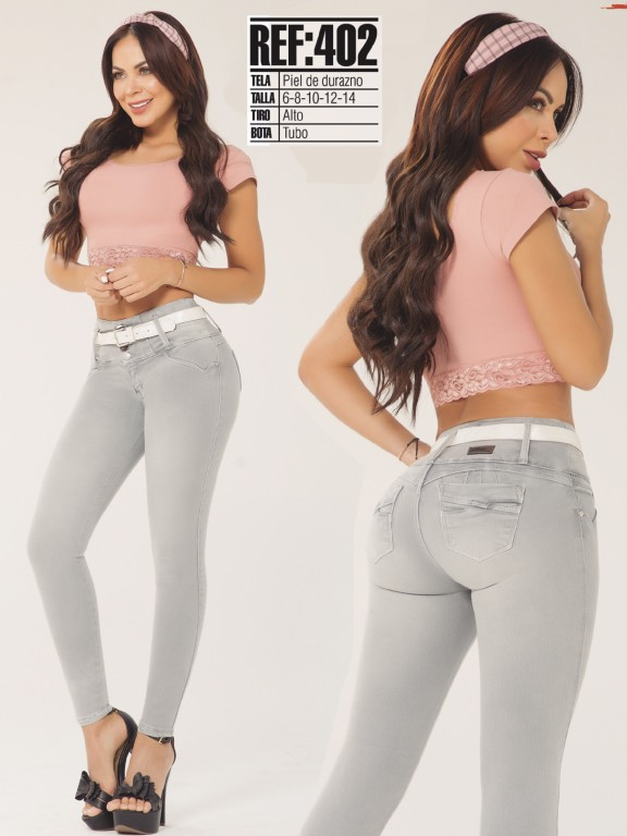 Colombian Butt lifting Jean - Ref. 119 -402