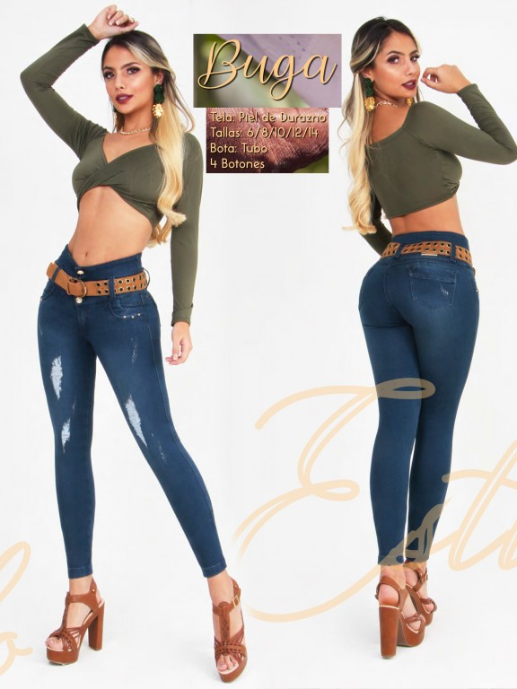 Jeans Colombianos Waoo - Ref. 300 -Buga