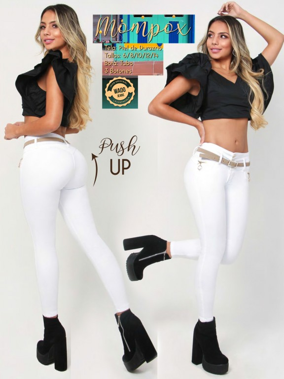 Jeans Colombianos Waoo - Ref. 300 -Mompox
