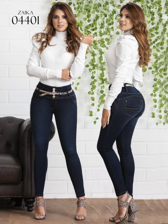 Jeans Levantacola Colombiano Zaika - Ref. 270 -4401