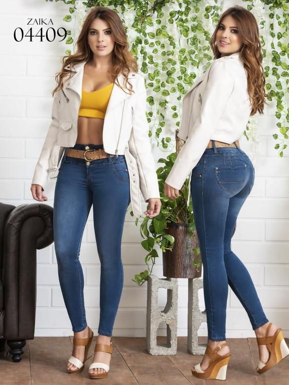 Jeans Levantacola Colombiano Zaika - Ref. 270 -4409