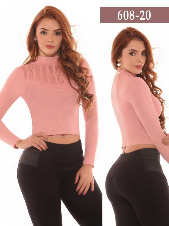 Azulle Fashion Blouse - Ref. 256 -608-20 Rosado