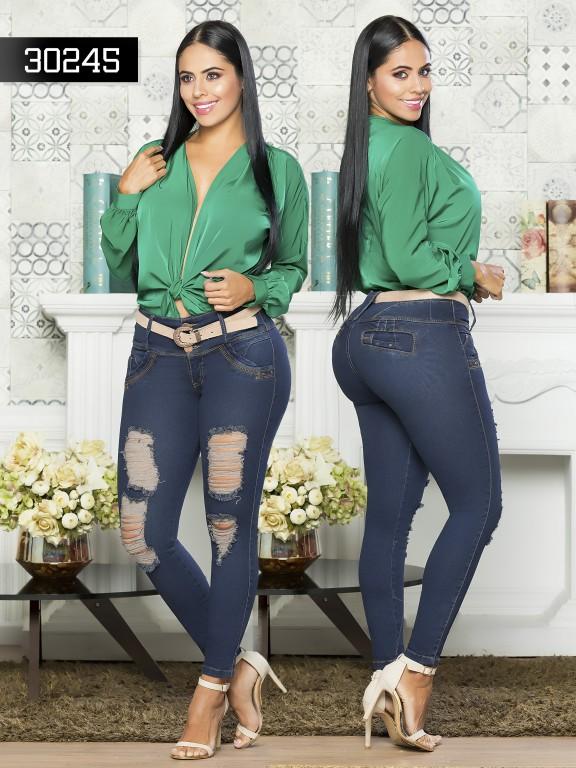 Colombian Butt lifting Jean - Ref. 119 -30245TE