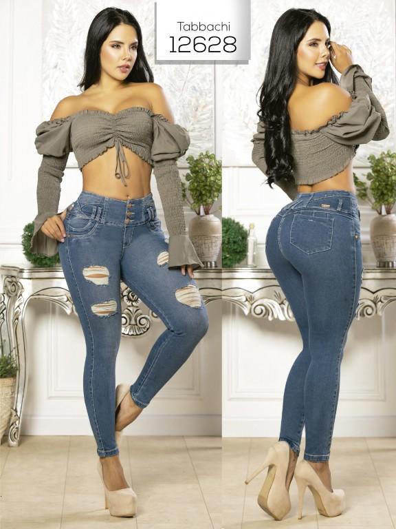 Jeans Levantacola Colombiano Tabbachi  - Ref. 101 -12628 T