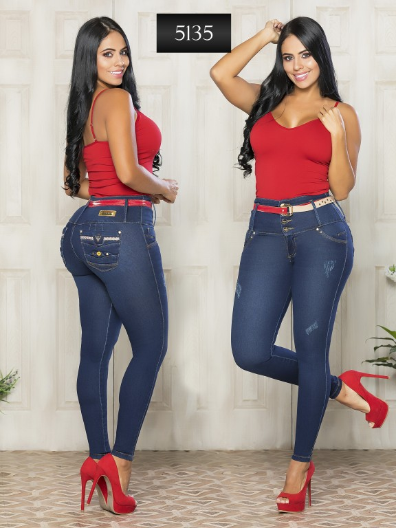 Jeans Levantacola Colombiano - Ref. 119 -5135-S