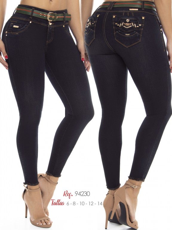 Jean Colombiano Do Jeans - Ref. 248 -94230 D