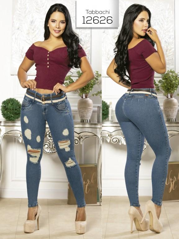 Jeans Levantacola Colombiano Tabbachi  - Ref. 101 -12626 T