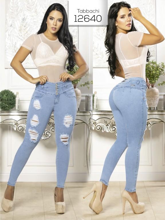 Jeans Levantacola Colombiano Tabbachi  - Ref. 101 -12640 T
