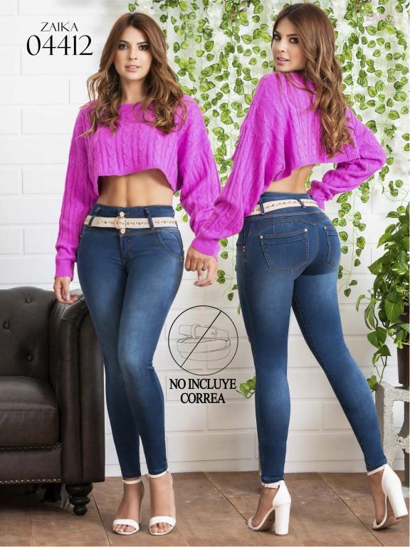 Jeans Levantacola Colombiano Zaika - Ref. 270 -4412