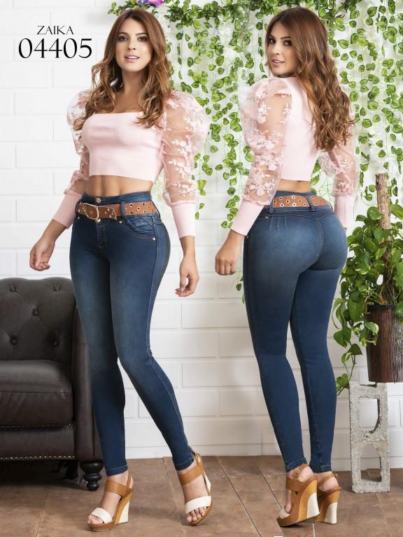 Jeans Levantacola Colombiano Zaika - Ref. 270 -4405
