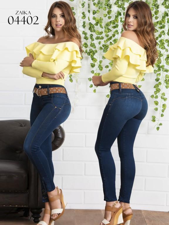 Jeans Levantacola Colombiano Zaika - Ref. 270 -4402