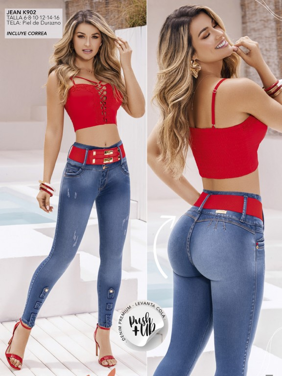 Colombian Butt lifting Jean - Ref. 119 -902 K