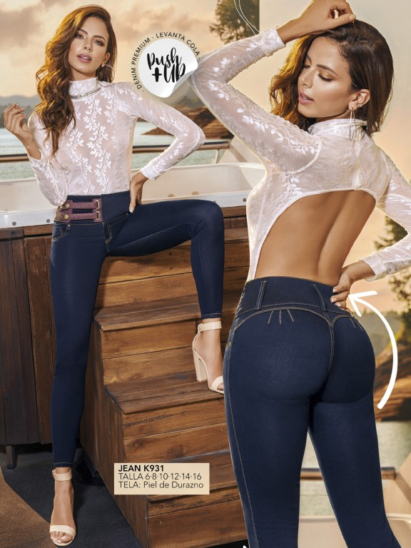 Colombian Butt lifting Jean - Ref. 119 -931K