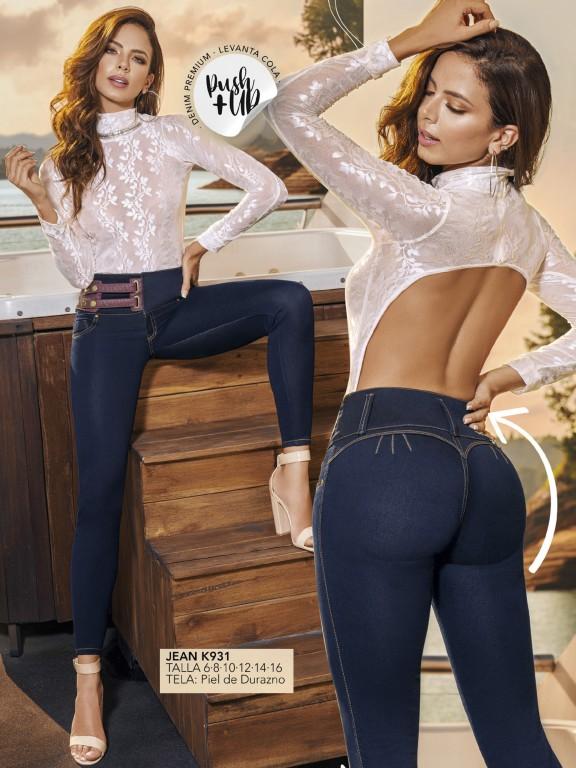 Colombian Butt lifting Jean - Ref. 119 -931K
