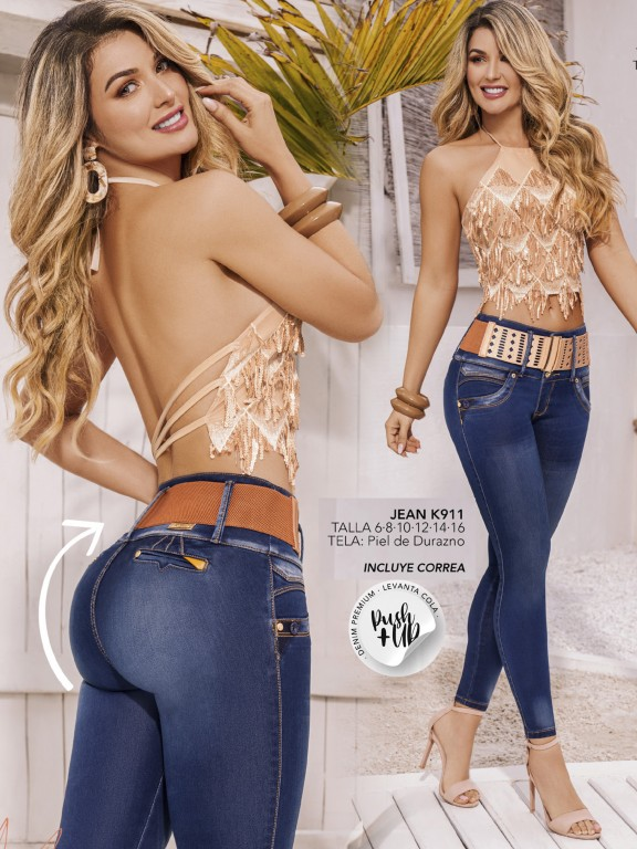 Colombian Butt lifting Jean - Ref. 119 -911K