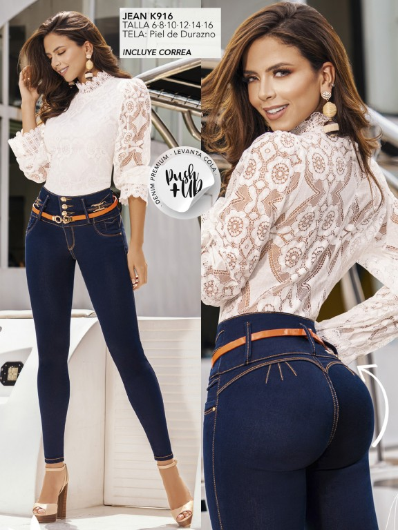 Colombian Butt lifting Jean - Ref. 119 -916K