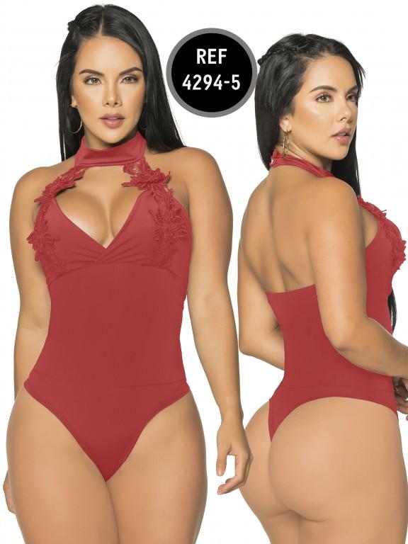 Body Reductor Colombiano Capellini - Ref. 114 -4294-5 Rojo