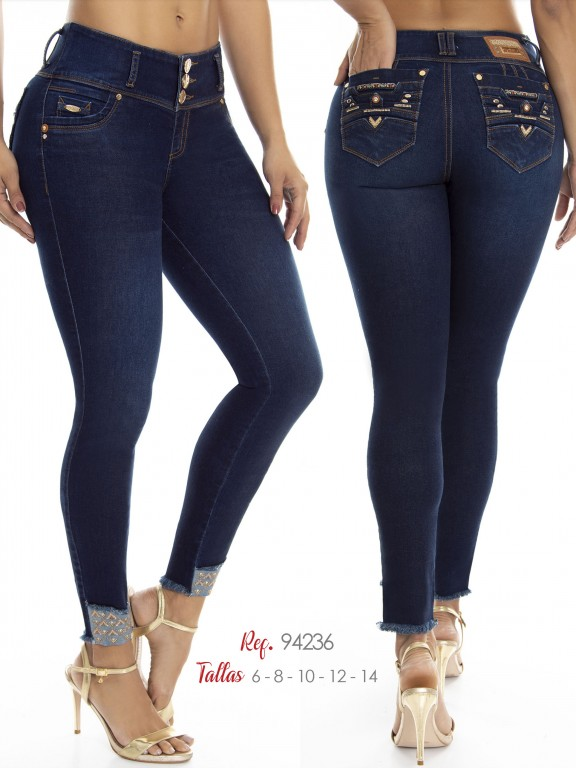 Jean Colombiano Do Jeans - Ref. 248 -94236 D