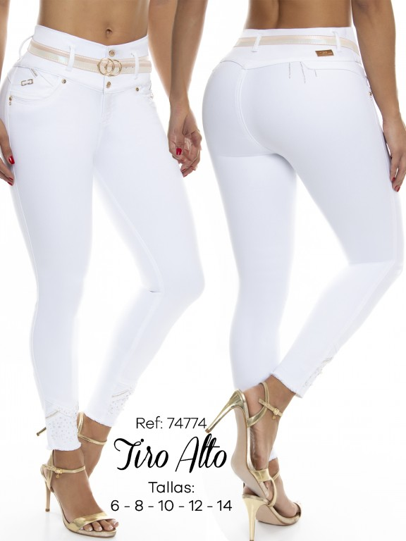 Jean Colombiano Do Jeans - Ref. 248 -74774 D