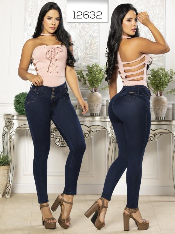 Jeans Levantacola Colombiano Tabbachi  - Ref. 101 -12632 T