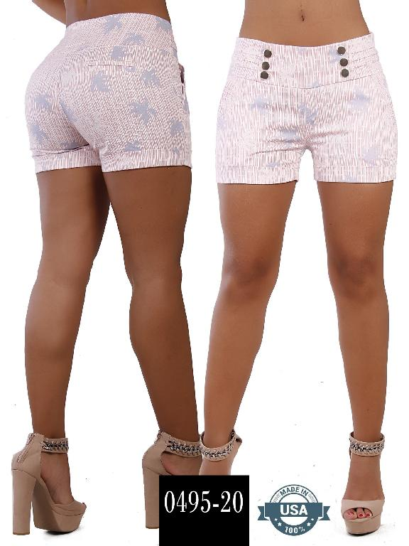 Short Azulle Fashion - Ref. 256 -0495-20 Rosado