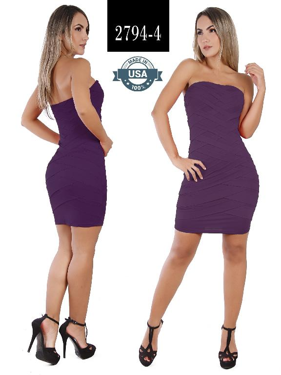 Azulle Fashion Dress - Ref. 256 -2794-4 Morado