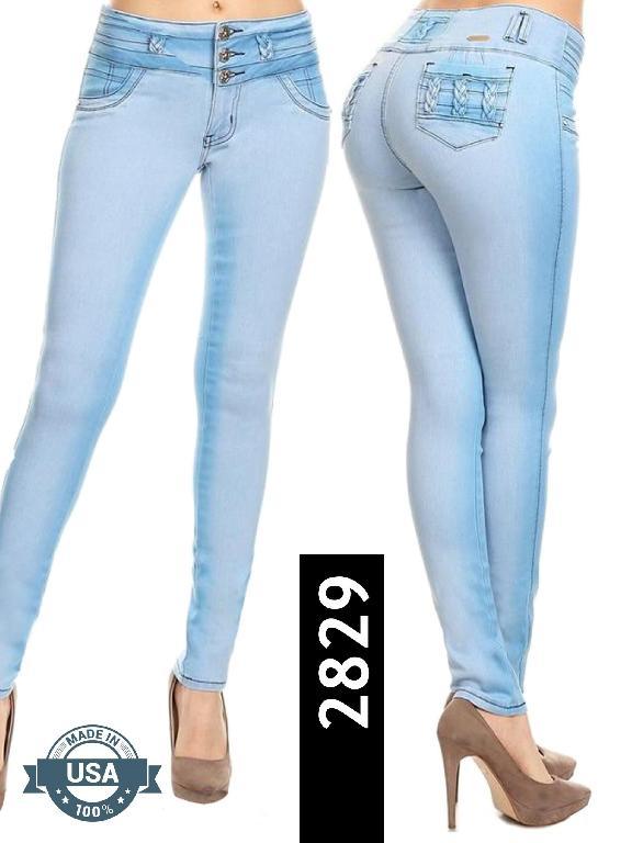 Jeans Levantacola Silver Diva - Ref. 108 -2829