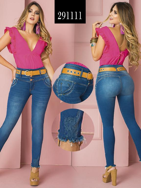 Jeans Levantacola Colombiano - Ref. 270 -291111
