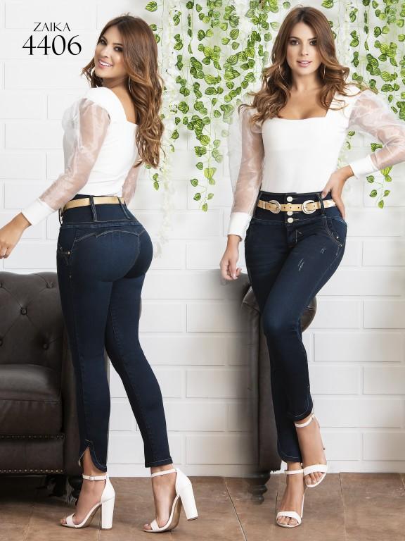 Jeans Levantacola Colombiano Zaika - Ref. 270 -4406
