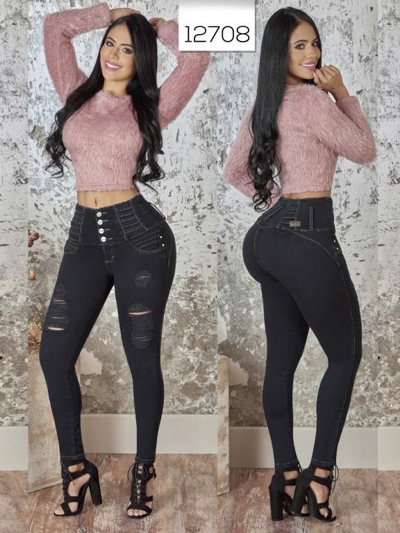 Jeans Levantacola Colombiano  - Ref. 123 -12708 TW