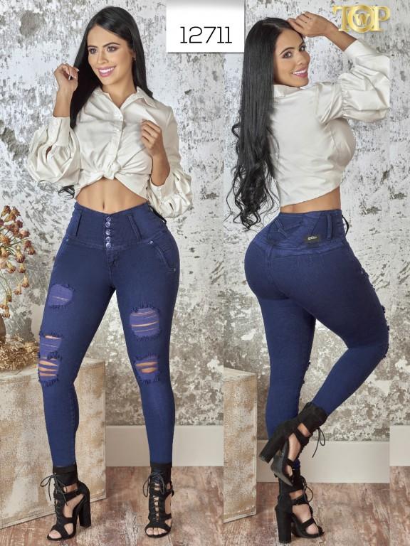 Jeans Levantacola Colombiano  - Ref. 123 -12711 TW