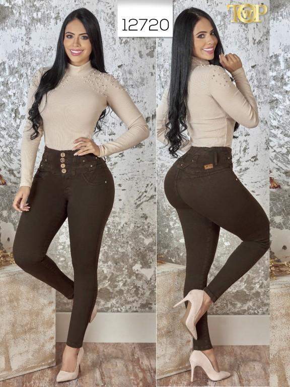Jeans Levantacola Colombiano  - Ref. 123 -12720 TW