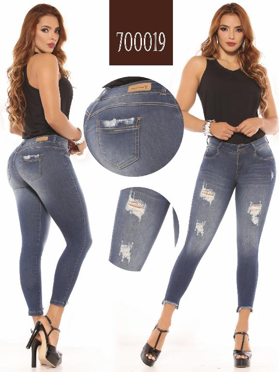Colombian Butt lifting Jean - Ref. 260 -700019