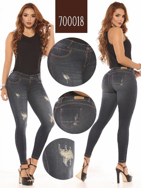 Colombian Butt lifting Jean - Ref. 260 -700018