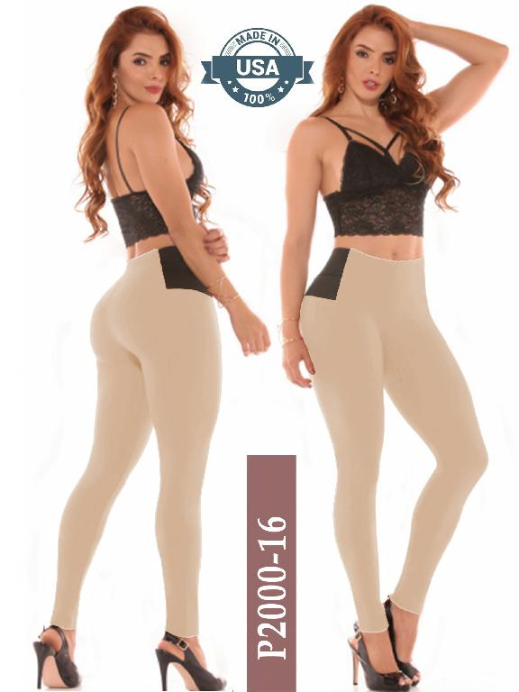 Leggings Azulle Fashion - Ref. 256-P2000-16 Beige