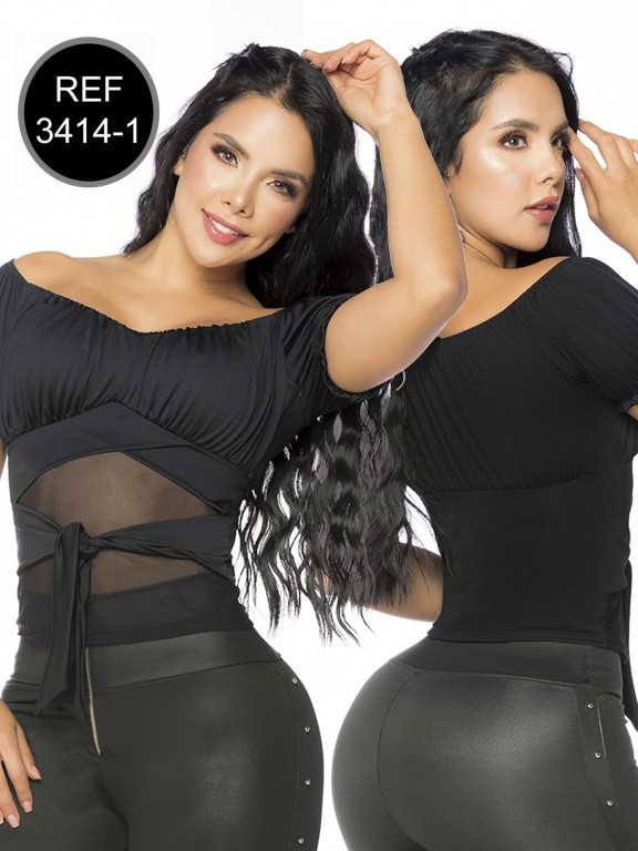 Colombian Fashion Blouse - Ref. 119 -3414-1