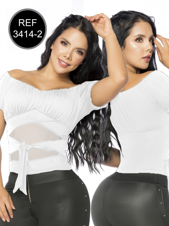 Colombian Fashion Blouse - Ref. 119 -3414-2