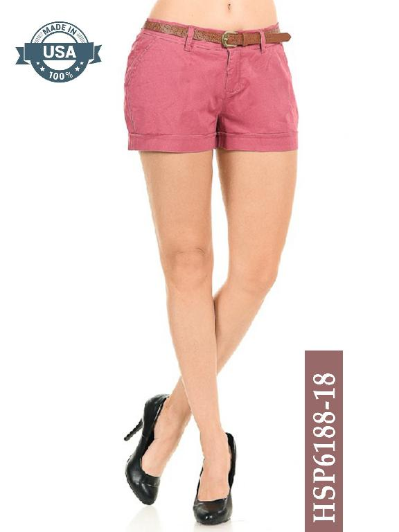 Short Azulle Fashion - Ref. 256 -HSP6188-18 Coral