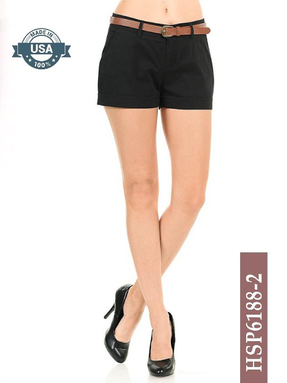Short Azulle Fashion - Ref. 256 -HSP6188-2 Negro