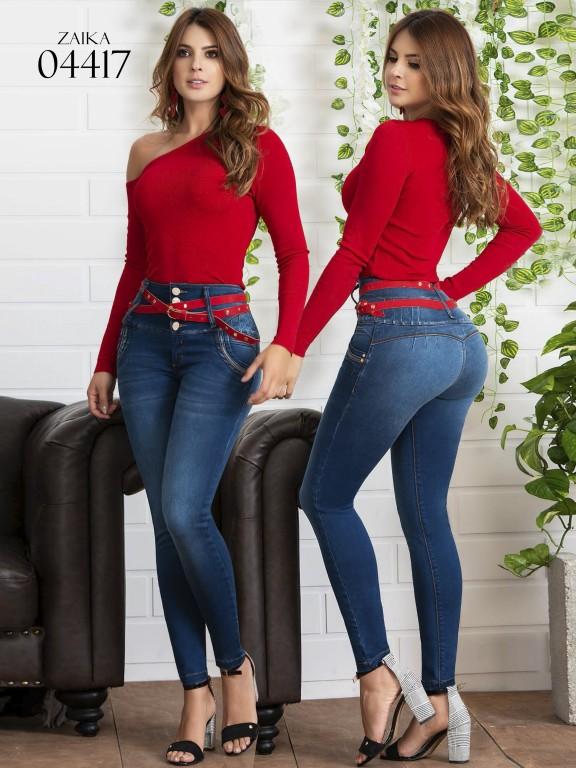 Jeans Dama Colombianos - Ref. 270 -4417 SB