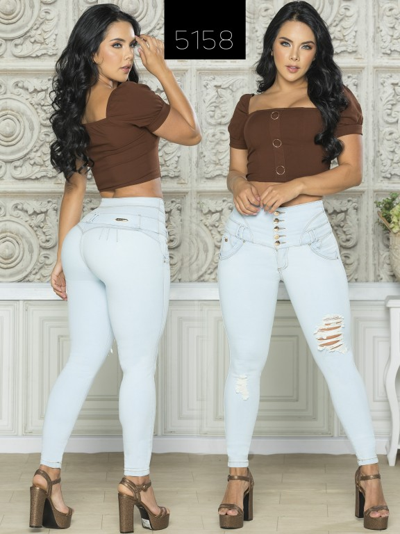 Colombian Butt lifting Jean - Ref. 119 -5158-S
