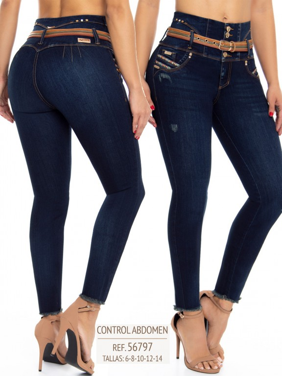 Colombian Butt lifting Jean - Ref. 248 -56797 D